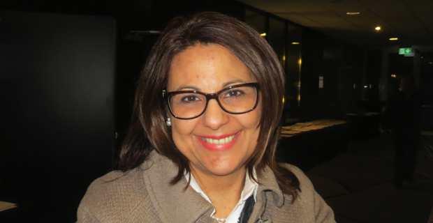 Natasha Meli Daudey, l'ambassadeur maltais en Pologne.