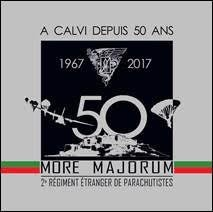 50e anniversaire de présence du 2e REP à Calvi : Prise d'armes sur le port le 18 mars en ouverture