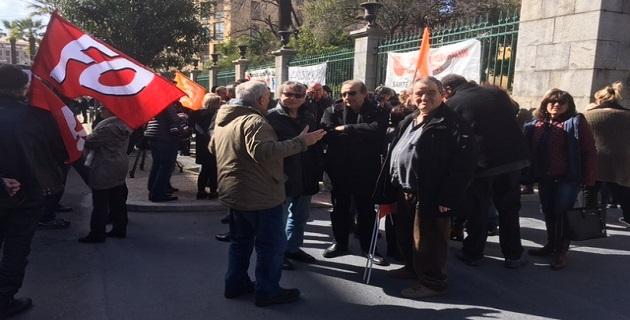 Manifestation devant la préfecture de Corse : La santé se dégrade