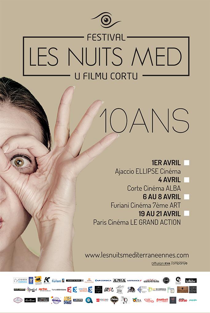 Le FESTIVAL U FILMU CORTU « Les Nuits MED » fête ses dix ans