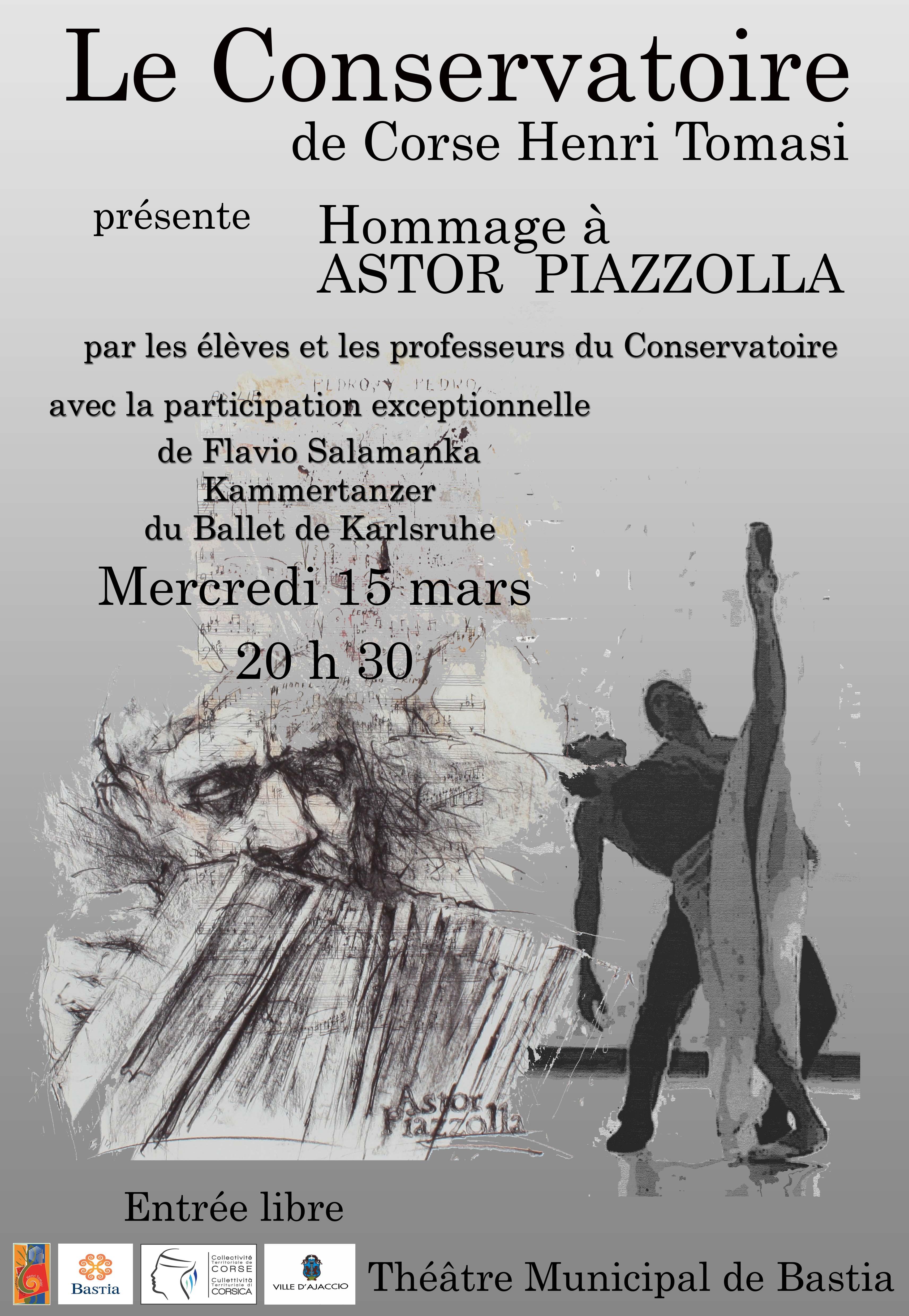 Une soirée pour célébrer la musique d'Astor Piazzolla