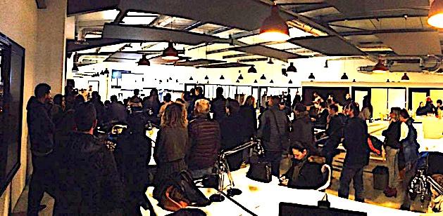 Présentation du projet Equì.corsica lors du premier événement Communiti le 2 février 2017 à l'Empire Cowork (Ajaccio).