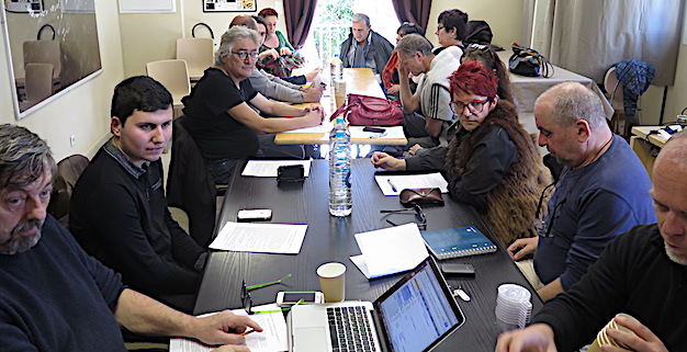 """Les comités de soutien de la """"Corse Insoumise"""" se sont réunis  à Poggio di Venaco"""