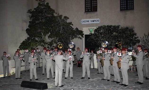 50e anniversaire de l'arrivée du 2e REP de Calvi : La musique des parachutistes de Toulouse pour commencer
