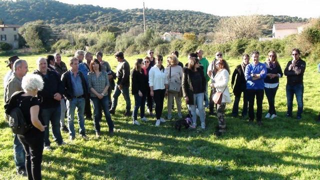 La visite  pour la vente du  Domaine de  Palazzi  à Santa Reparata di Balagna n'a pas eu lieu