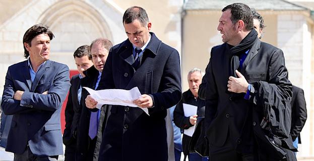 Première visite à Bonifacio pour Gilles Simeoni