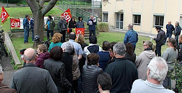 Bastia : journée d'action de la CGT dans les services publics
