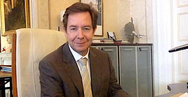 Le préfet de Corse, Bernard Schmeltz.