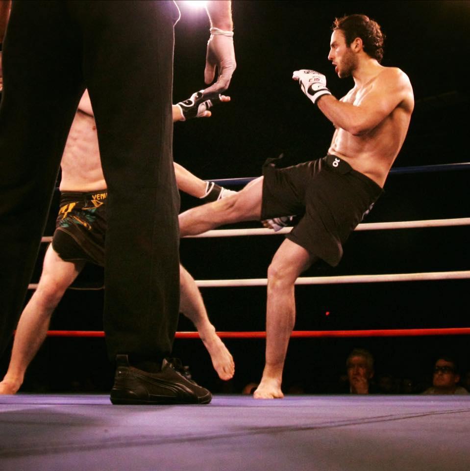(Marc Nivaggioli lors de son combat au KOC 9)