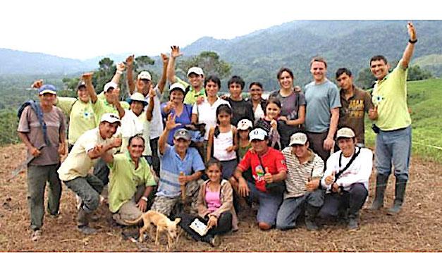 """Pérou : 60 000 arbres plantés dans la """"Forêt Corsica Ferries"""""""