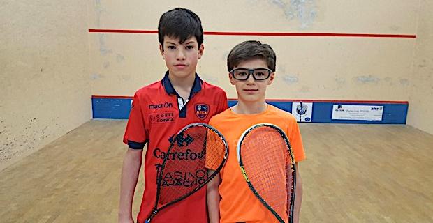 Antonin Romieu décroche son ticket pour la finale du championnat de France de Squash U13 à Toulouse