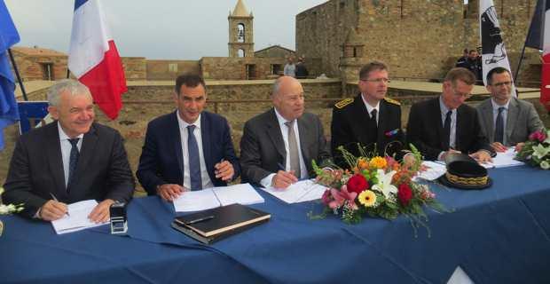 La signature du contrat de ruralité.
