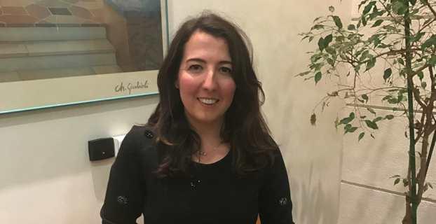 L'avocate Charlotte Cesari, élue nationaliste d'opposition au Conseil municipal de Propriano.