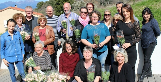 La « journée fleurs » : La campagne de solidarité de l'ADMR de Corse-du-Sud