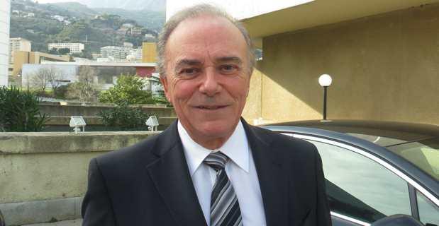 Le député-maire sortant de Biguglia, Sauveur Gandolfi-Scheit, candidat LR dans la 1ère circonscription de Haute-Corse pour le scrutin législatif de juin prochain.
