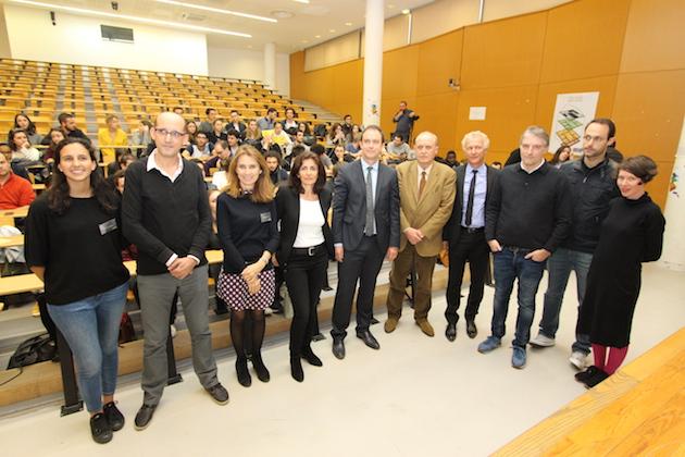 Lors de la séance inaugurale (© Dominique Grandjean / Università di Corsica)