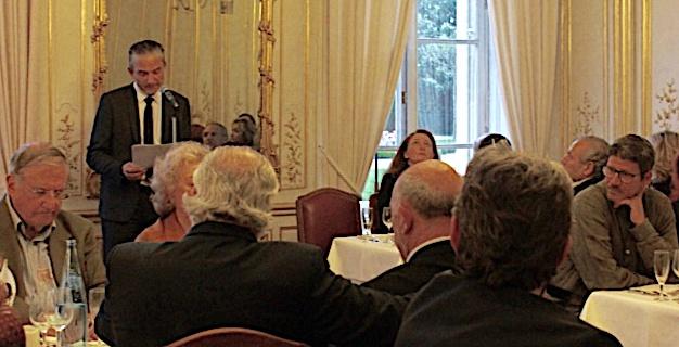 L'allocution du président Frédéric Bianchi