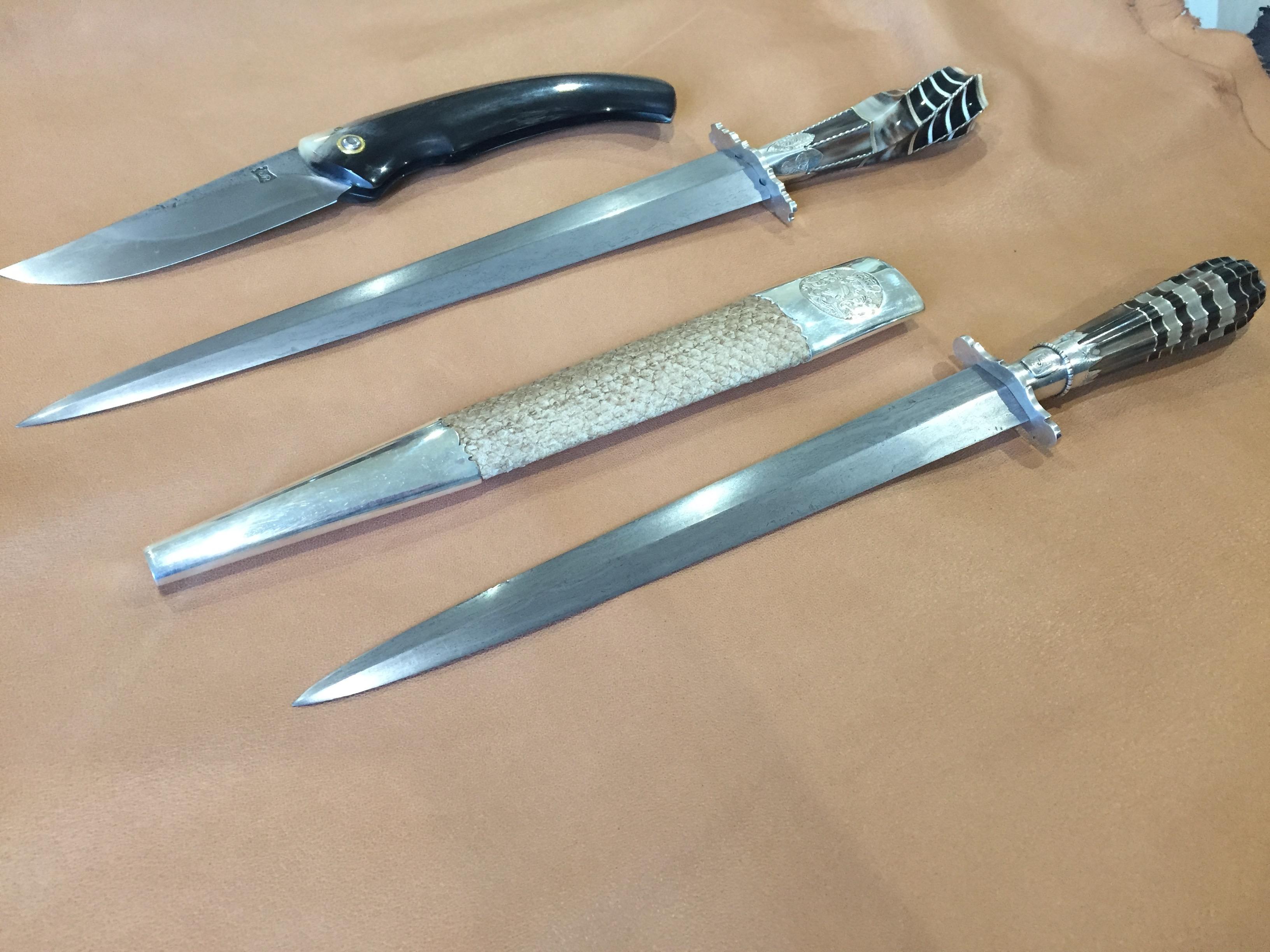 Jean-Dominique Susini, un coutelier d'art inspiré par les techniques ancestrales