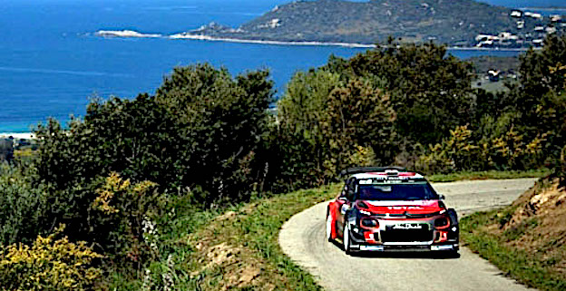 Chris Meeke, leader