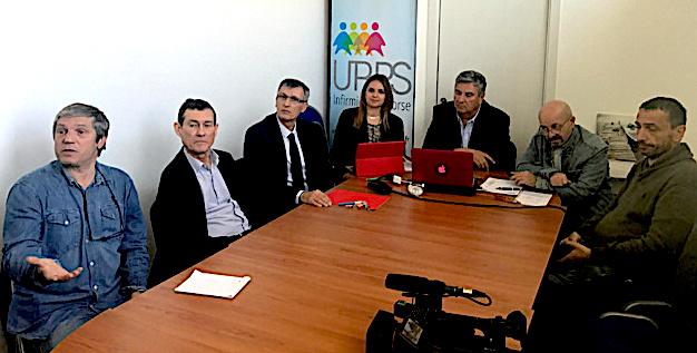 Michel Rioli et l'URPS phamarciens à Folelli