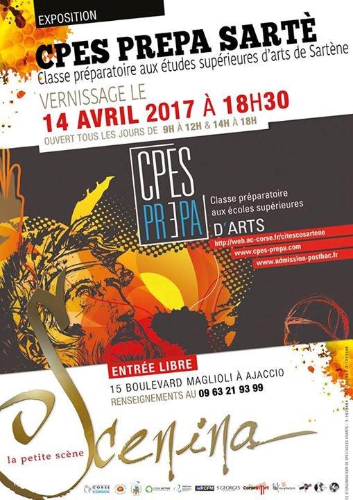 Le CPES de Sartène expose à Scenina à Ajaccio – Vernissage ce vendredi à 18h30