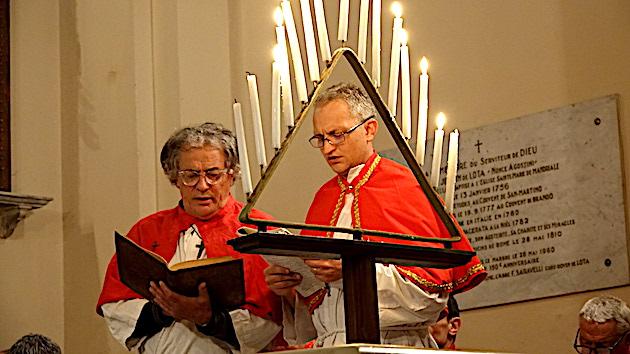 Ghjovi Santu in Figarella : Tradition respectée