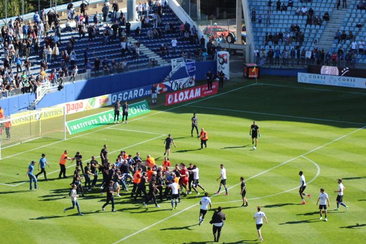 Sporting-Lyon : Le match s'arrête avant de commencer....