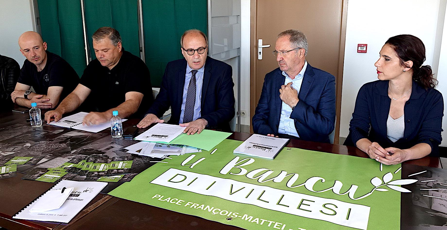 """Ville-di-Petrabugnu : 'U Bancu di I Villesi"""" revit à Toga"""