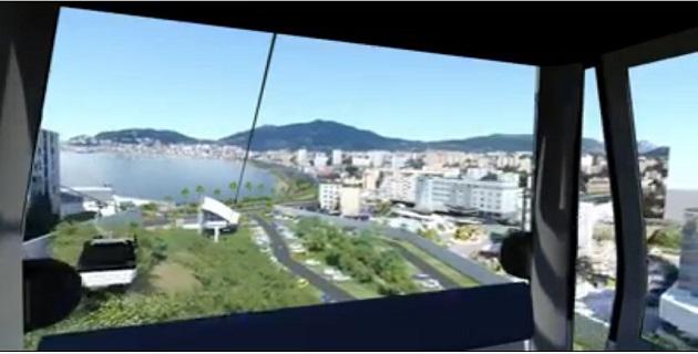 Aspretto-Stiletto- Mezzavia : Le projet du téléphérique en bonne voie de réalisation