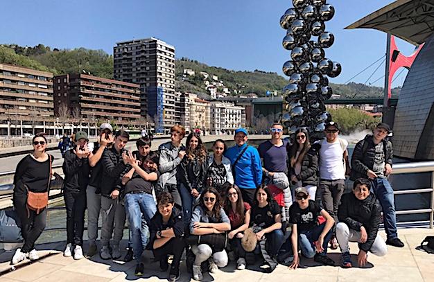 Le voyage initiatique des collégiens bilingues de Balagne au Pays Basque