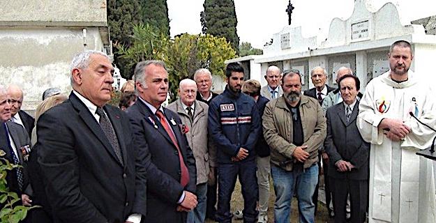 Un carré militaire du Souvenir Français inauguré à L'Ile-Rousse