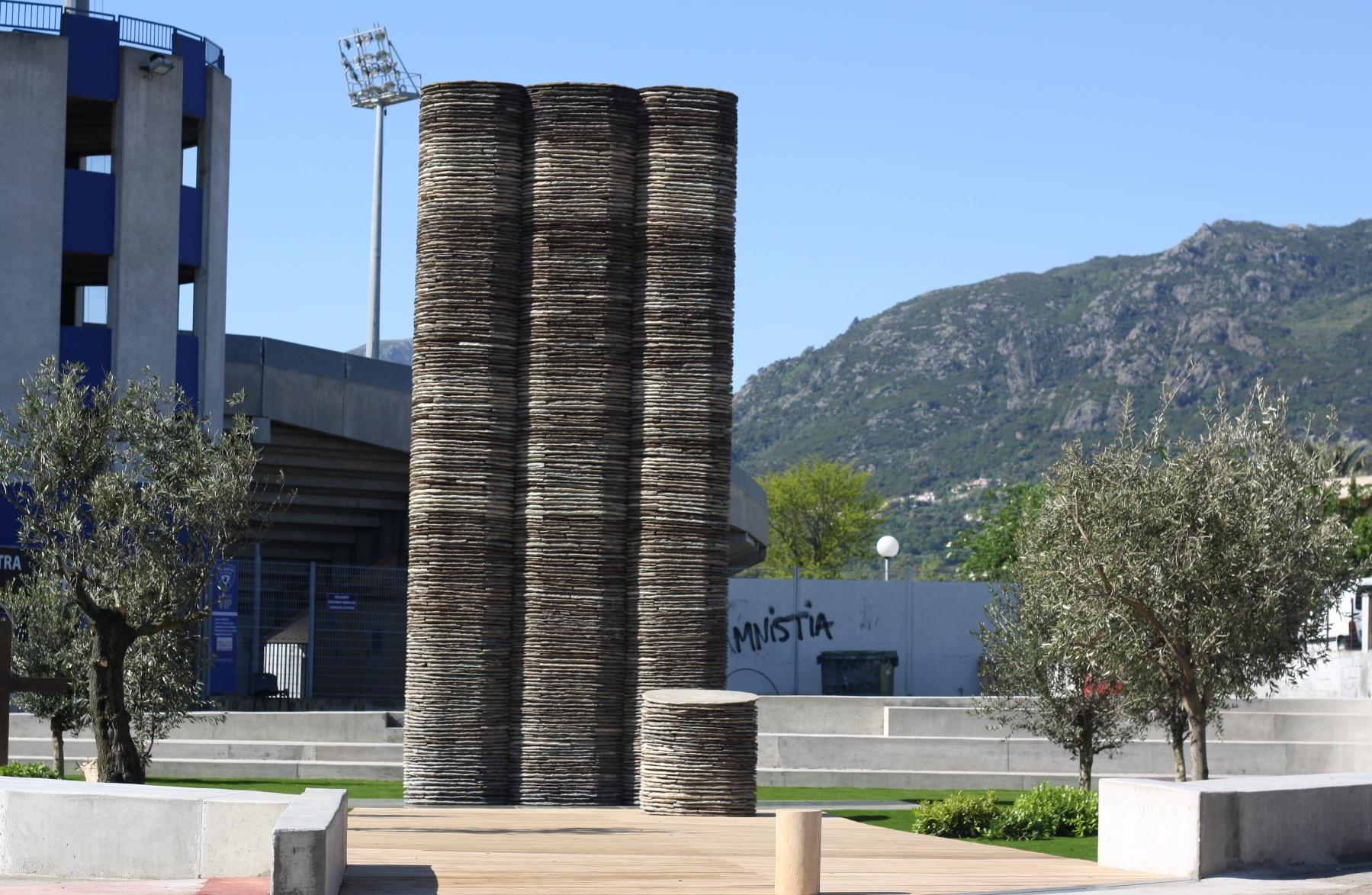 Furiani : Fin des travaux de rénovation de la stèle dédiée au drame du 5 mai 1992