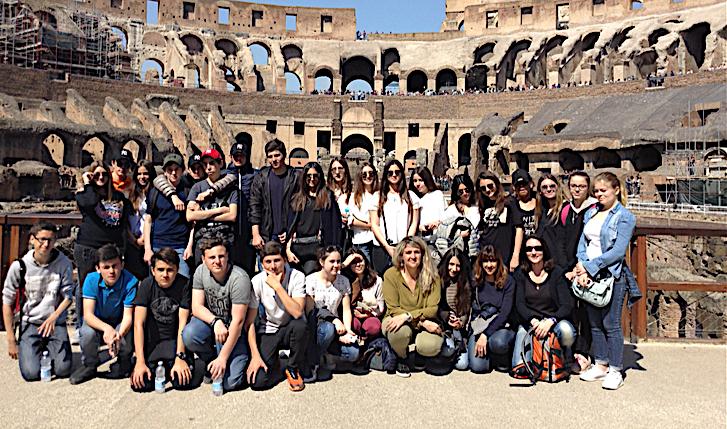 De L'Ile-Rousse à Rome : Roma, città antica e Moderna, città eterna