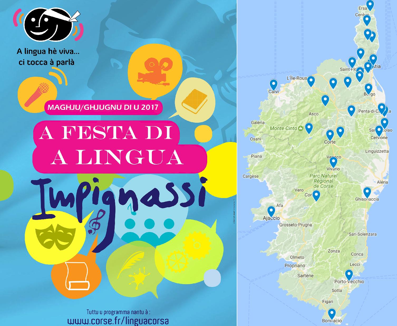 Festa di a lingua : Une centaine d'événements… presque tous en Haute-Corse
