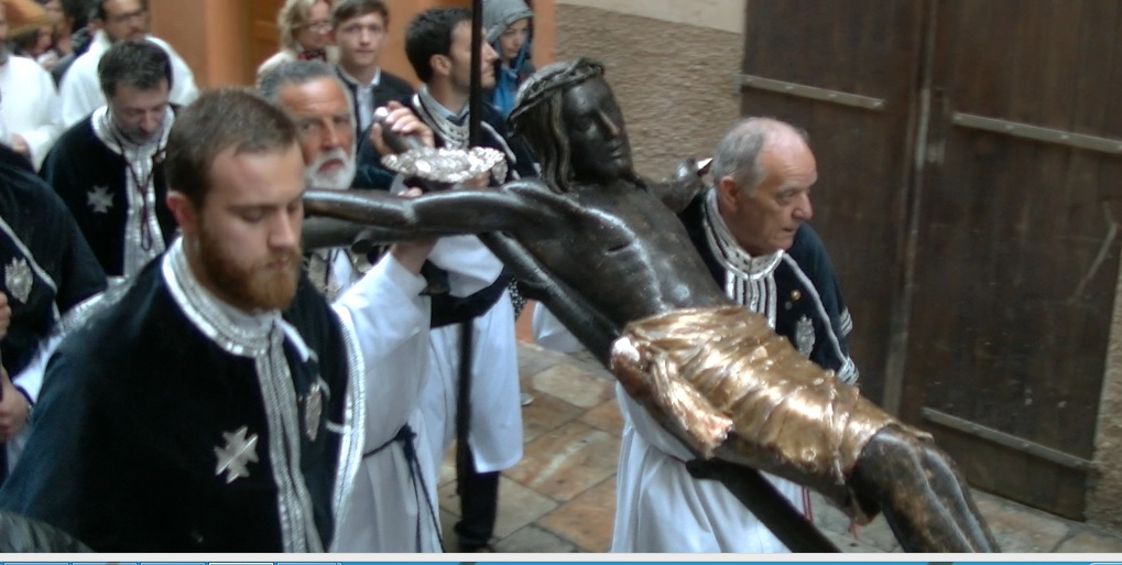 Bastia : Procession de « U Cristu Negru » sous la pluie