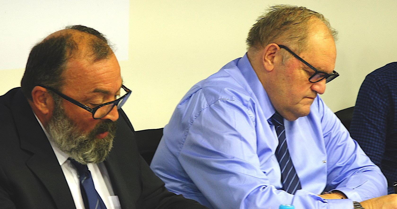 Jean-Simon Savelli et Henri Mondino
