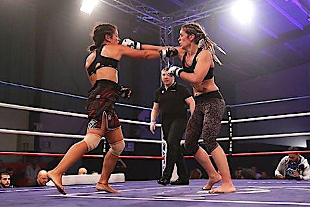 Maria Casanova (à droite) : La victoire à Clichy