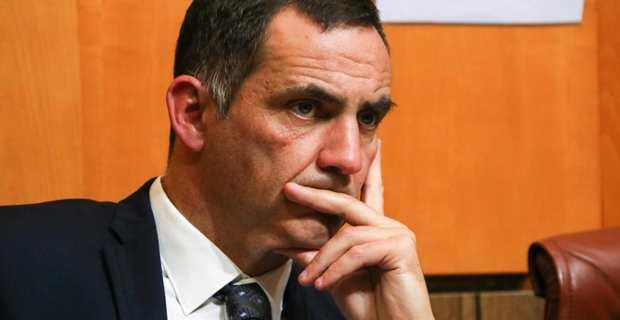 Gilles Simeoni, président de l'Exécutif de la Collectivité territoriale de Corse (CTC) et leader des Nationalistes modérés