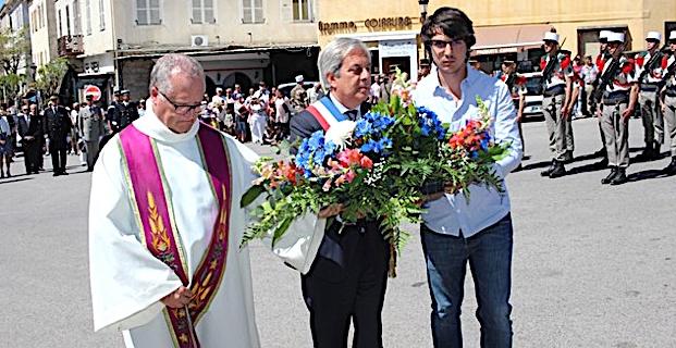 A Calvi, l'hommage à toutes les victimes de la seconde Guerre Mondiale