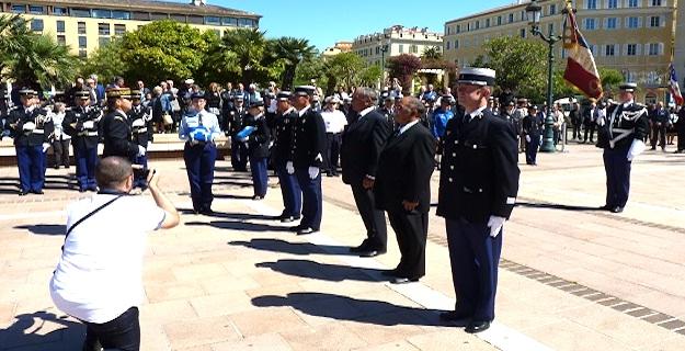 Commémoration du 8-Mai :  Gendarmes et Anciens Combattants décorés à Ajaccio