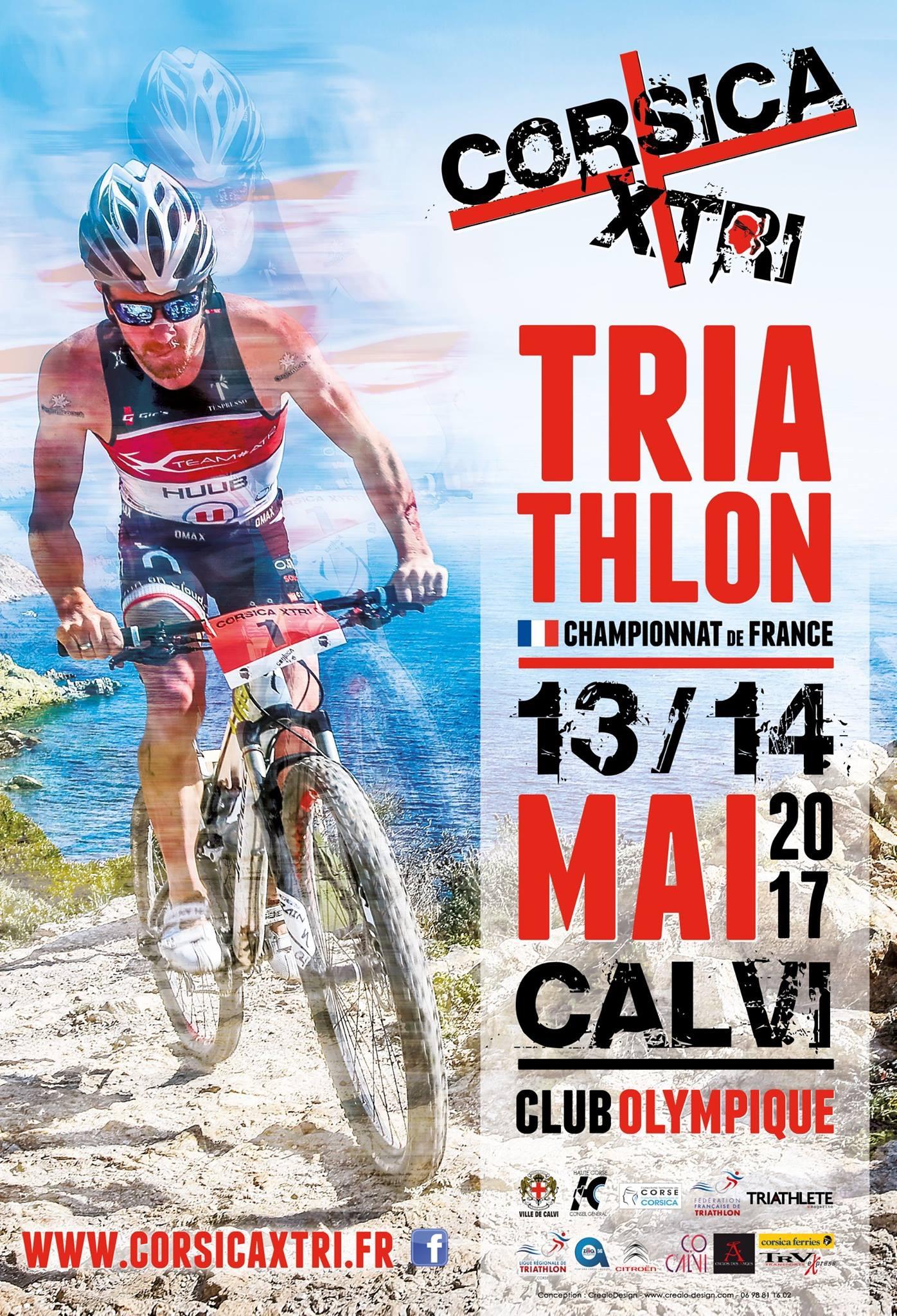 Calvi  capitale du Triathlon les 13 et 14 mai