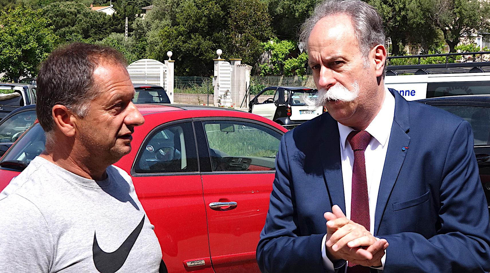 Christian Ricoveri et Bernard Stalter