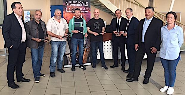 La Corse au Salon international des couteaux d'exception de Thiers