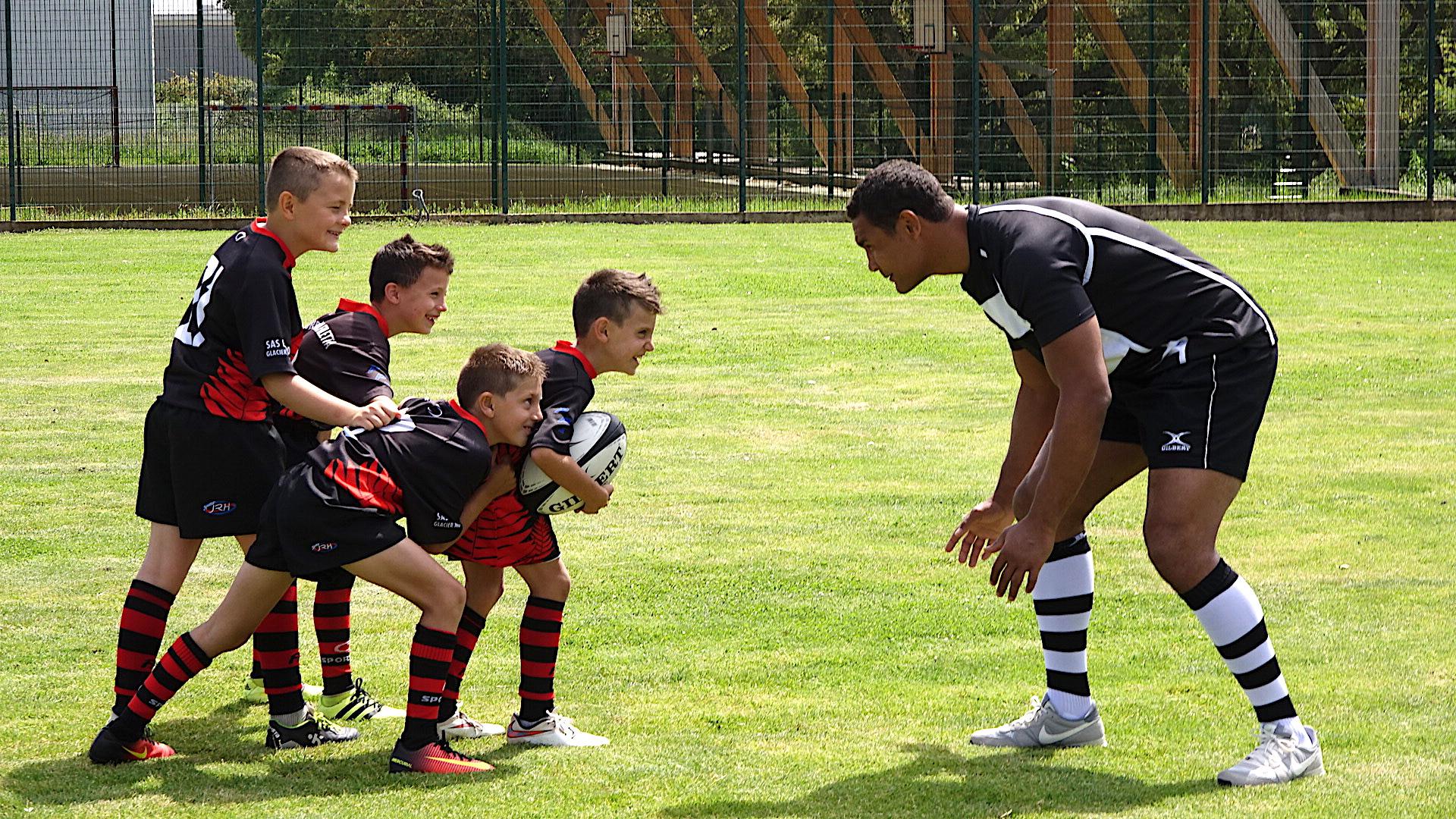 Thierry Dusautoir ambassadeur du Rugby corse