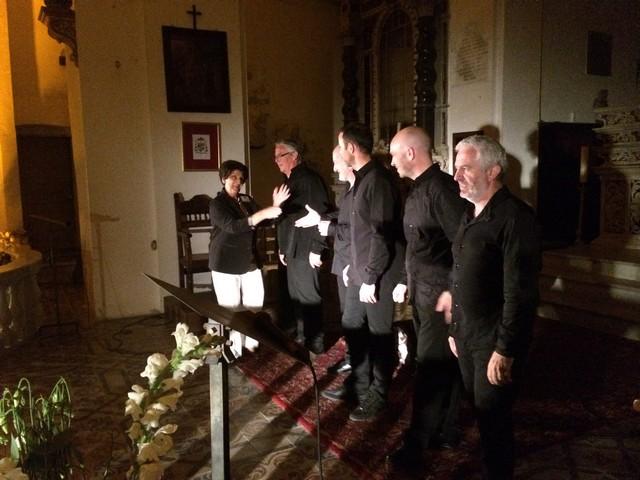 """A Calvi, le Groupe  """"A Filetta"""" chante au profit de la  Ligue contre le cancer"""