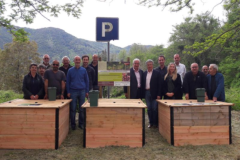 Biodéchets : Le premier composteur partagé de Corse installé à Tolla
