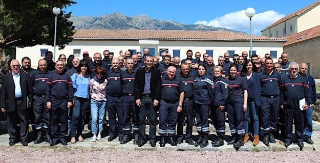 Les sapeurs-pompiers de Corse en marche vers le 124ème congrès national !