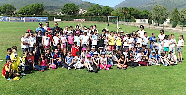 Biguglia : Opération « Foot scolaire » sous le soleil