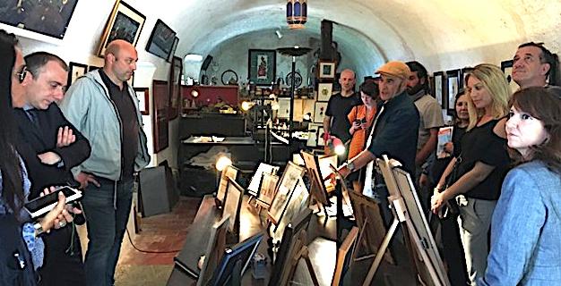 Première pour  Impresà Si sur le thème  de la création et des métiers d'art et design à Pigna