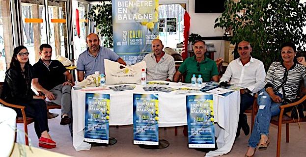 Les Rencontres  du bien-être en Balagne dans la pinède de Calvi